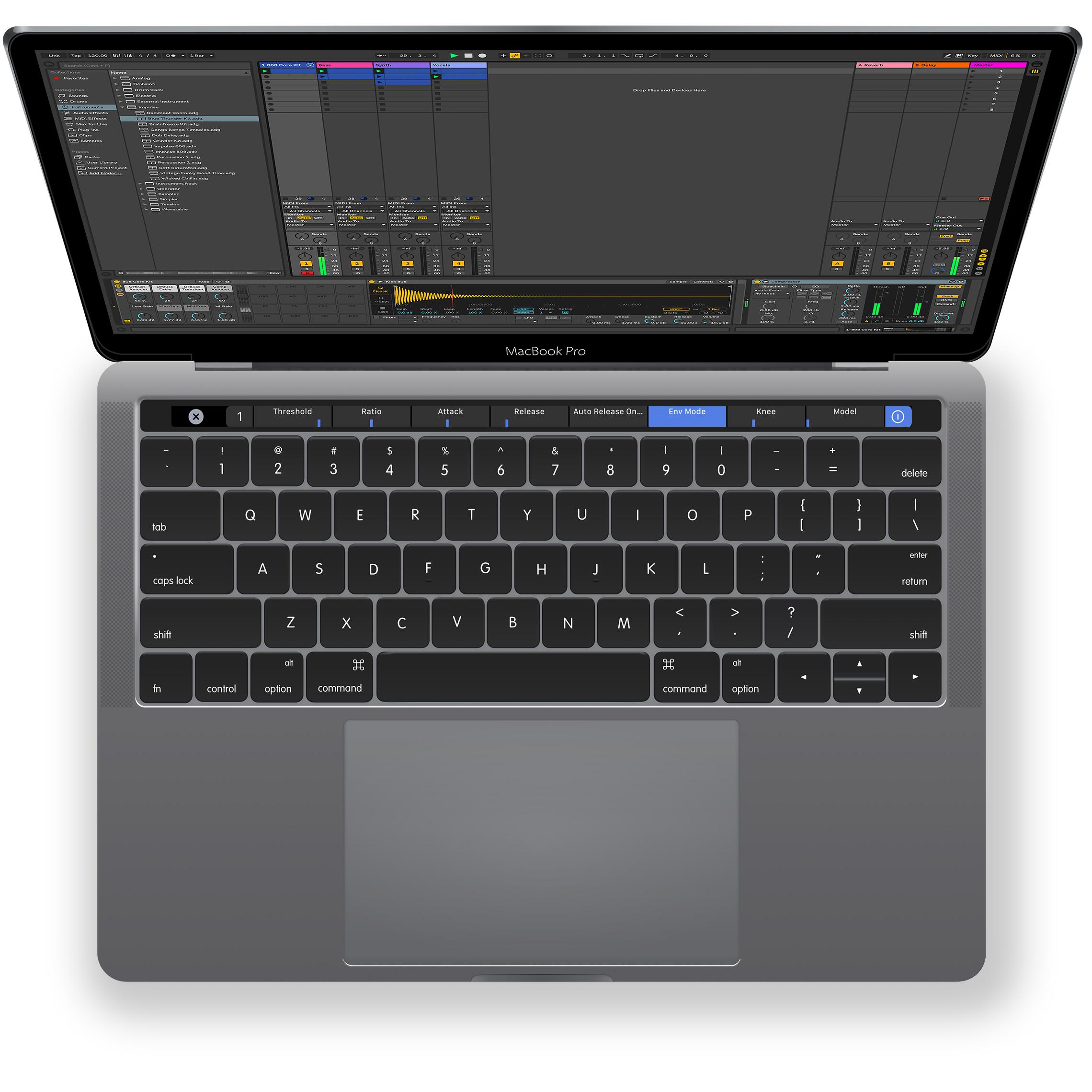 MIDI Touchbar